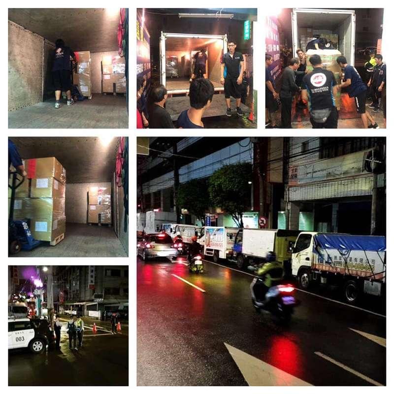 台北搬家案例.台北市萬華區公所選票運送6