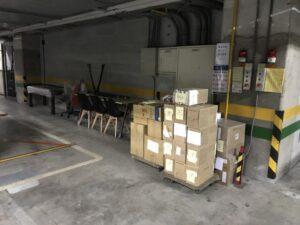 台北搬家案例.台北醫學大學庫房整理文件資料搬運3