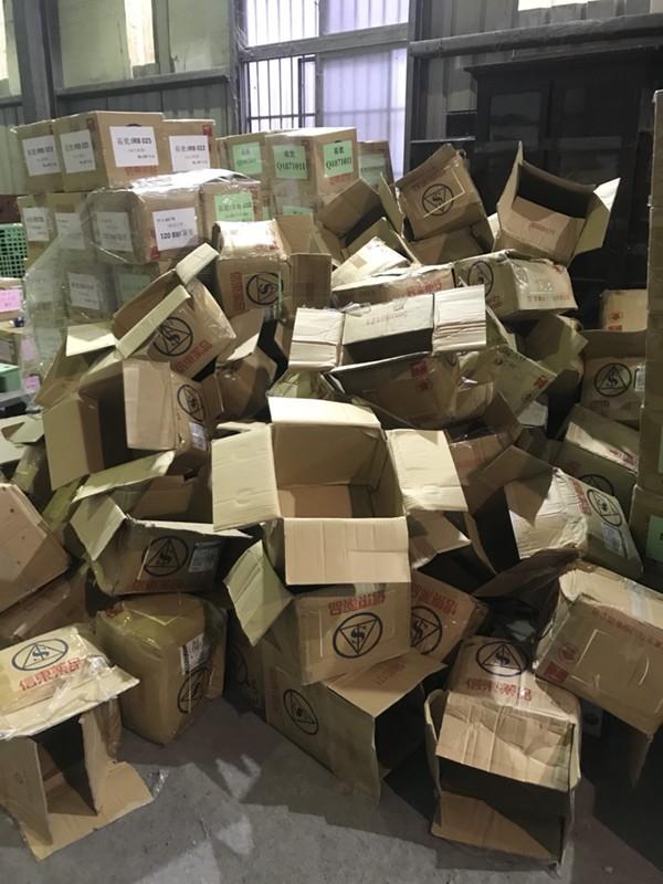 台北市搬家案例.北醫庫房整理紙箱與移動上架定位3