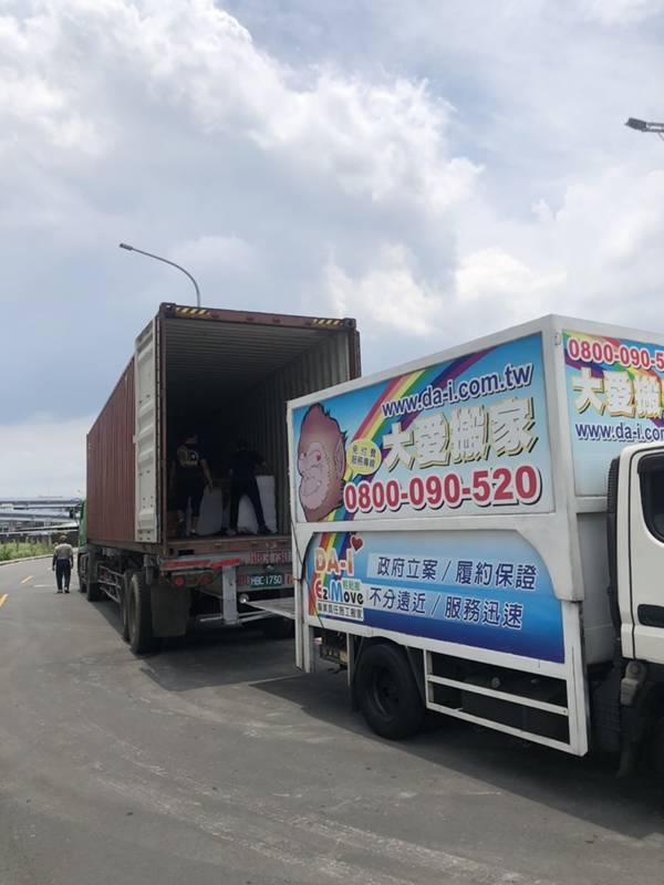 新北市搬家案例.拆兩個貨櫃與搬運-協助客戶進行外國進口特殊家具組裝5