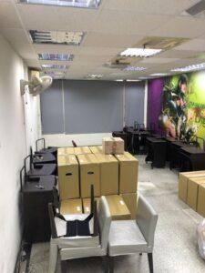 宜蘭巨匠電腦撤點-家俱物件搬運至其他據點