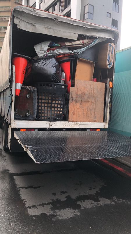 新北市搬家案例.樹林區山佳附近家庭廢棄物處理清運4
